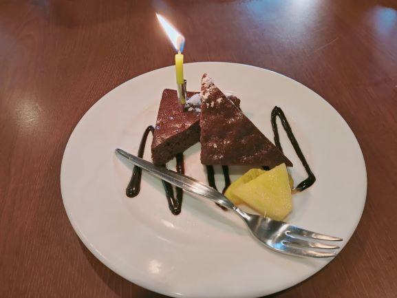 カウボーイ家族の誕生日ケーキ
