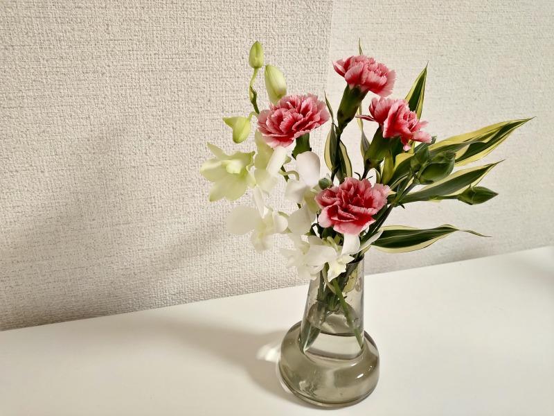 ブルーミーライフのお花を飾る