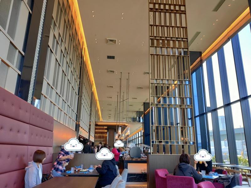朝食会場の様子「ホテルヴィラフォンテーヌグランド東京有明」