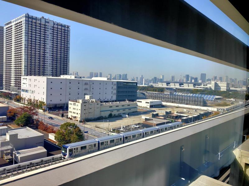 部屋からの眺望「ホテルヴィラフォンテーヌグランド東京有明」