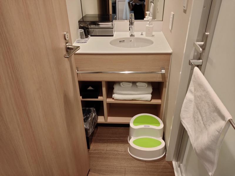 洗面台「ホテルヴィラフォンテーヌグランド東京有明」