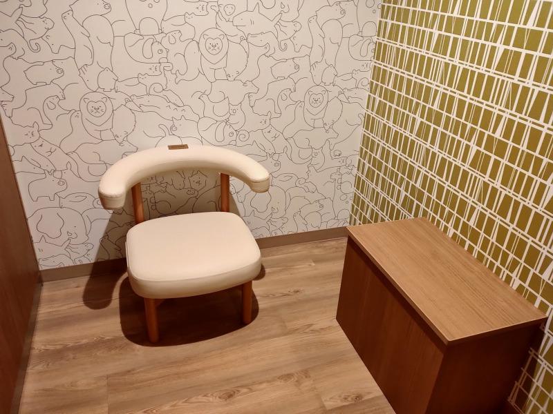授乳室「ホテルヴィラフォンテーヌグランド東京有明」